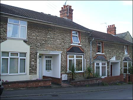 These old stone cottages are the oldest in the road