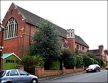 Photograph of St. Peter's Church, Midland Road.