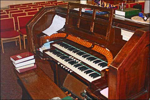 The organ today