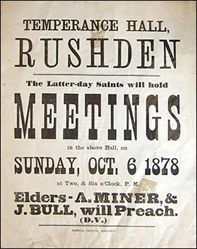Poster for a meeting