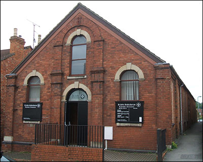 The chapel building in 2007, it is now used by the St John Ambulance Brigade