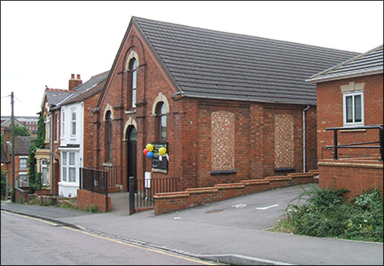 The Primitive Methodist Chapel in Fitzwilliam Street. It was built in 1890