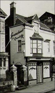 Gramshaw's furniture shop.