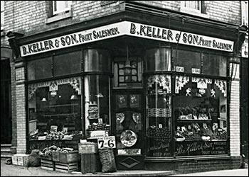 Keller's fruit & vegetable shop.