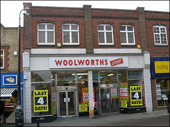 The last few days of Woolworth's