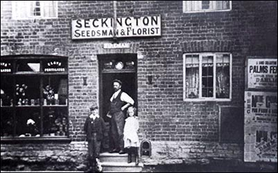 Seckington florists and seed merchants.