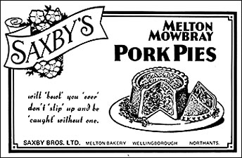 Saxby's Pork Pies
