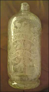 A fine bottle of Oldham & Co
