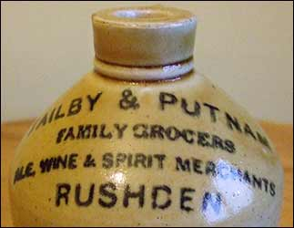 Tailby and putnam gallon flagon