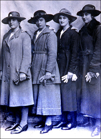 The ladies of the drapery in about 1930