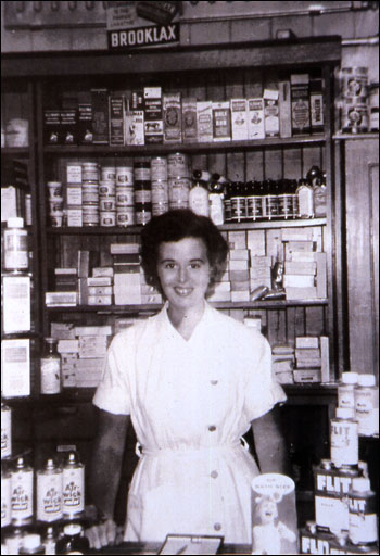Inside the Chemist shop
