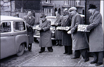 Xmas parcels 1959 - for members who had joined 50 years ago