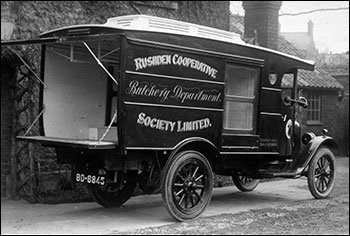 The Chevrolet for butchery deliveries