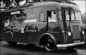 In 1953 a mobile shop was purchased