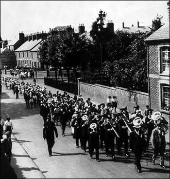 The Co-op's Jubilee was celebrated with a parade in 1926