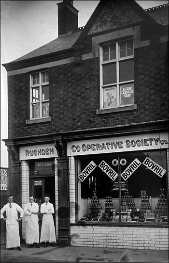 Park Road store opened in 1894, pictured in 1926