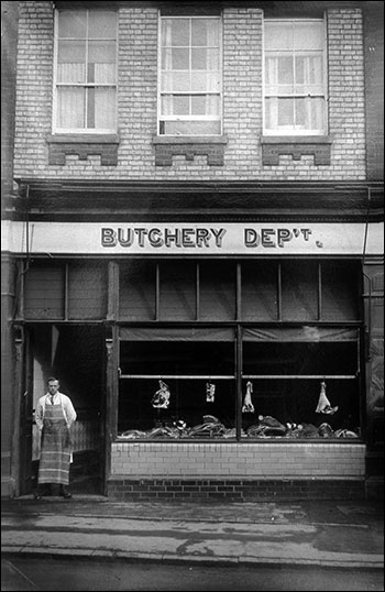 High Street South butchery department