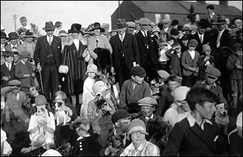 1926 dog show at the Jubilee park - gifted to the town on the Society's 50th anniversary