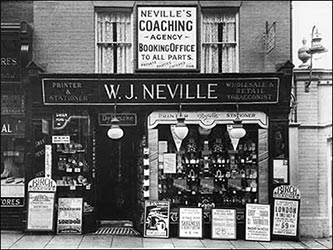 Neville's, tobacconist etc. next to the Palace