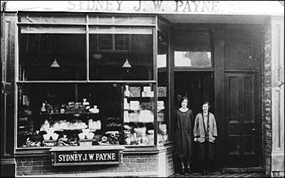 Payne's bakery and cake shop