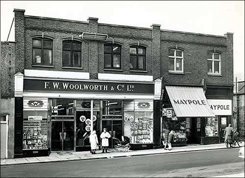Woolworths and the Maypole