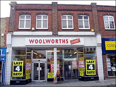 Woolworths in 2009