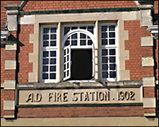 Picture showing detail of the New Station 1902