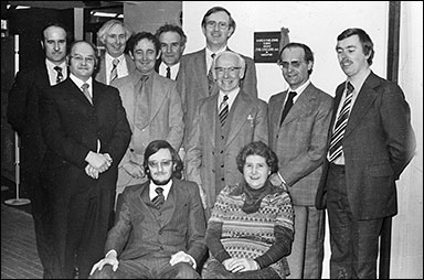 Photograph of School Managers  (March1978)