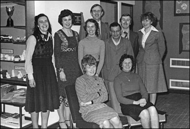 Photograph of Denfield staff March 1978
