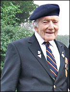 A Picture of Jack Tear with his war service medals
