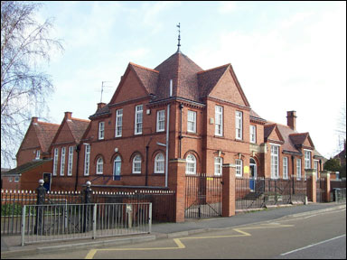 The school in Newton Road