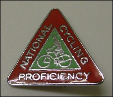 The badge they were awarded