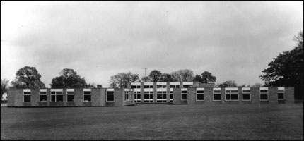 The new school in 1867
