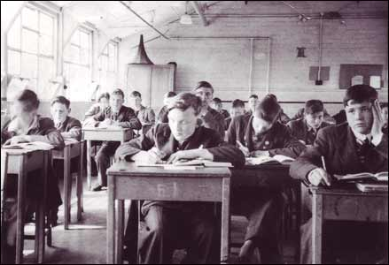 Inside one of the classrooms in the HORSA block