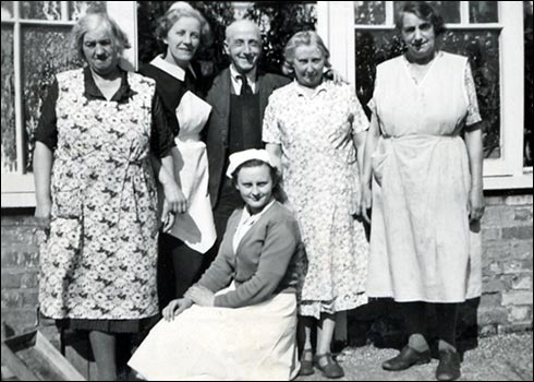 Staff at Rushden Sanatorium