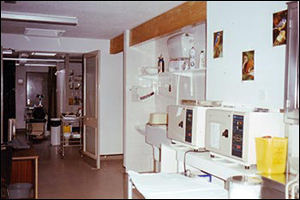 The treatment room for minor ailments & routine tests
