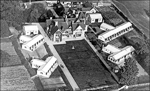 Rushden Sanatorium from the air