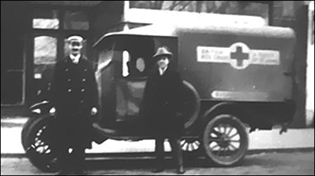 Model T Ford Ambulance 1920 to 1928