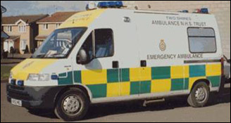 The transport for patients in 2000