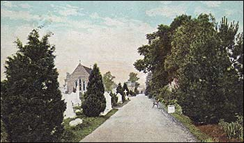 The Cemetery in 1906