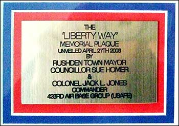 Liberty Way unveiled 2006