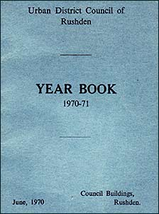 The year book cover 1970-71