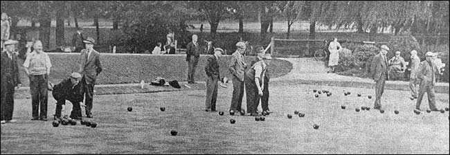 bowling in 1954