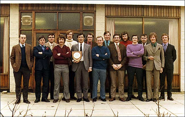East Midlands Champions 1972