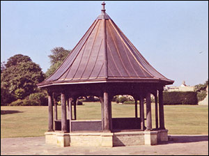 Photograph of the Bandstand in the 1980's