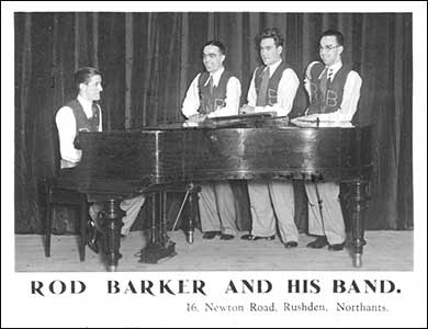 Rod Barker and his band