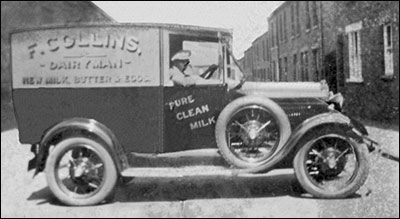 Collins' dairy was at 196 Wellingborough Road