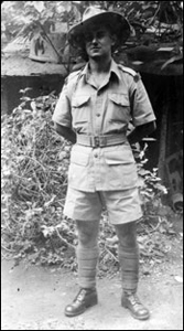 Ken in Freetown in 1945