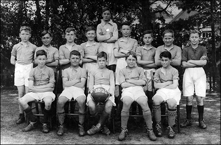 Intermediate School Football Team 1933