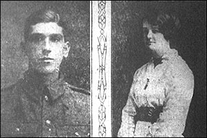 Pte Robinson & Miss Wright